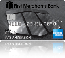 Picture of First Merchants American Express Card