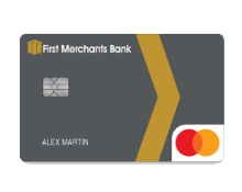 First Merchants Bank Credit Card